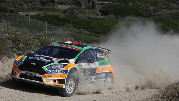 Rally Italia: Nicolás Fuchs terminó séptimo en el WRC2