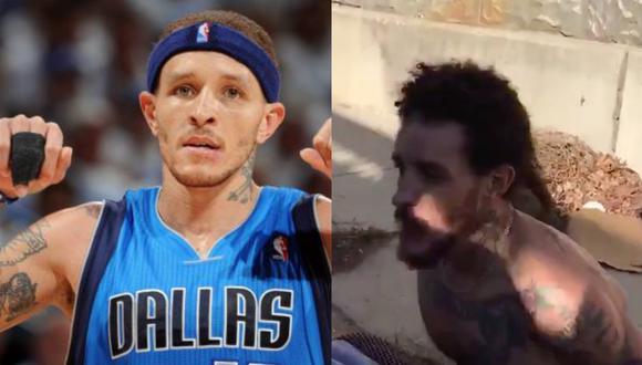 El ex jugador de la NBA Delonte West vive en las calles y su estado de salud es preocupante (Foto: Twiiter)