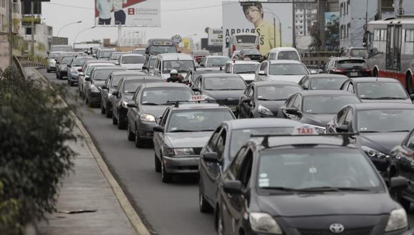 El parque automotor de Lima lo conforman actualmente 3'837.973 unidades. (Foto: GEC)