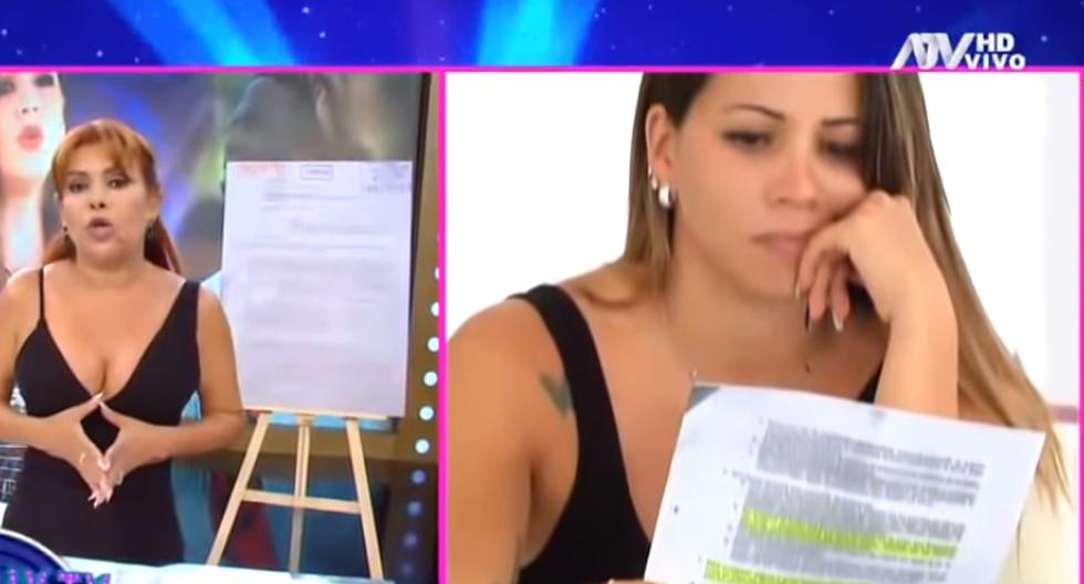 Melissa Klug sostiene que abogado que ha faltado a una cláusula del convenio que ellos tenían. (Captura de pantalla)