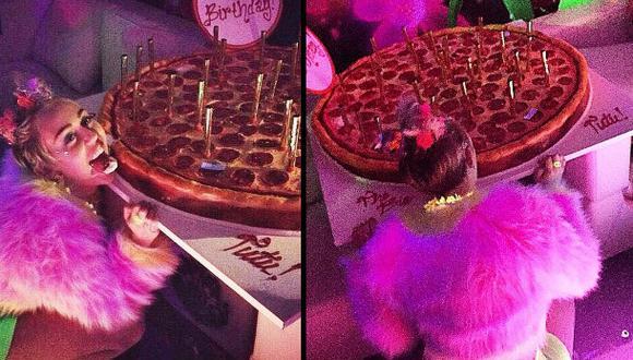 Instagram: Miley Cyrus celebró su cumpleaños con loca fiesta