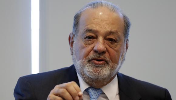 El magnate mexicano, Carlos Slim. AP