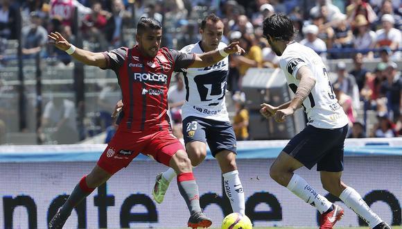 Pumas UNAM se miden ante Necaxa este domingo (12:00 p.m. EN VIVO ONLINE por Televisa Deportes), por la jornada 13 del campeonato. (Foto: EFE)
