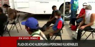 Coronavirus en Perú: hoy comienza a funcionar albergue en Plaza de Acho