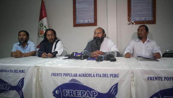 Miembros del Frepap en una conferencia realizada tras las elecciones. El grupo, que tendrá 15 curules, lleva a cabo un cónclave para definir una sola línea política, según una fuente. (Foto: GEC)