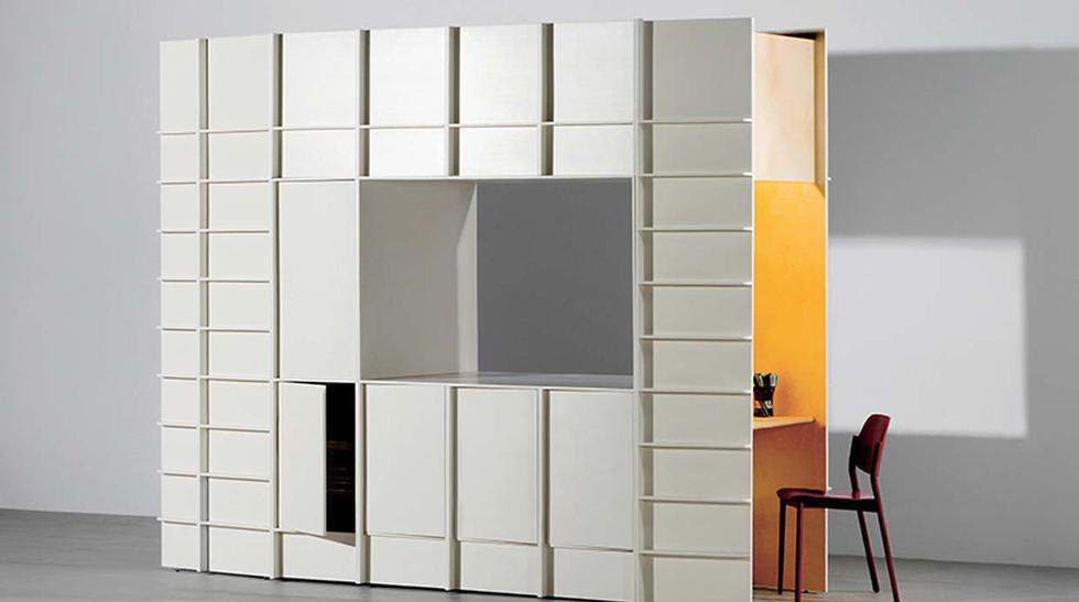 Rooms: fusionan muebles con espacios habitables - 1