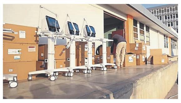 Junín: En los próximos días, el Gobierno Central hará entrega de 21 ventiladores mecánicos a la región Junín para mejorar la capacidad de atención a pacientes en el marco de la emergencia sanitaria por el COVID-19. (foto referencial)