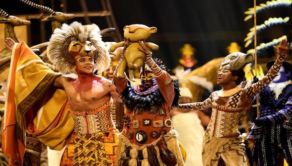 """Desde 1997, el musical """"El rey león"""" de Broadway se ha presentado en 25 capitales del mundo, como Londres, Madrid y Ciudad de México. / Foto: GettyImages."""
