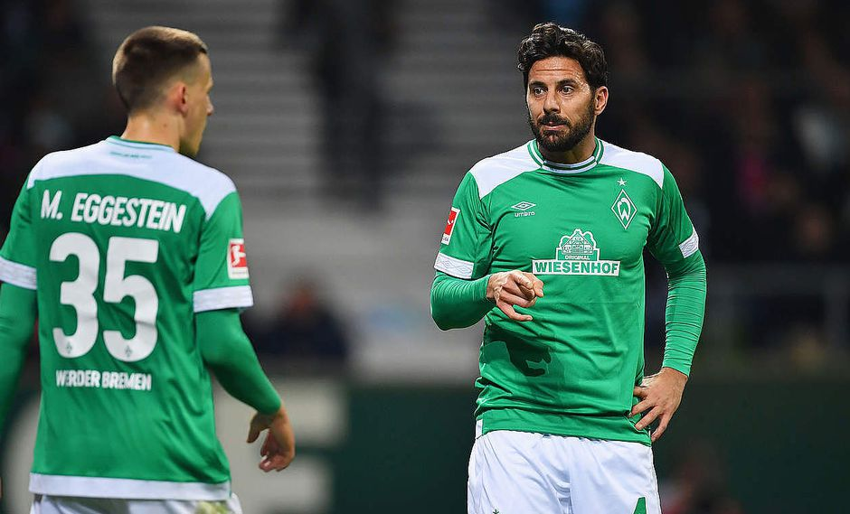 Claudio Pizarro ha concretado seis goles con Werder Bremen entre Bundesliga y Copa Alemana. (Foto: DFB)