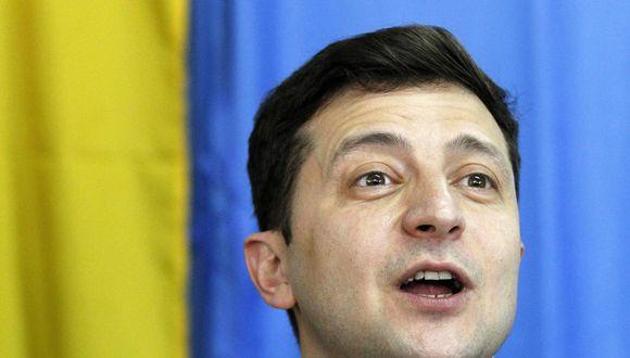 Volodymyr Zelenskiy elegido presidente de Ucrania | Elecciones Segunda Vuelta 2019 | Petró Poroshenko fue derrotado. (EFE).
