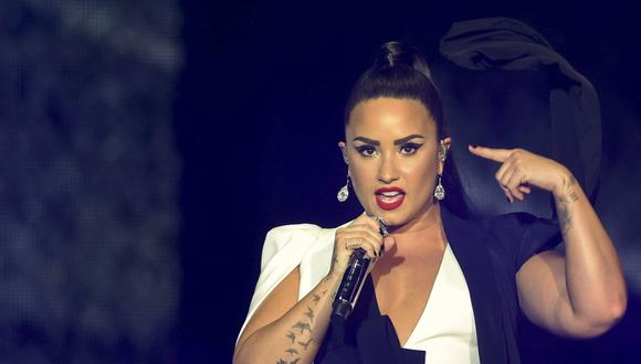 """Demi Lovato presentará """"Still have me"""" en los Billboard Music Awards 2020. (Foto: MIGUEL RIOPA/AFP)"""