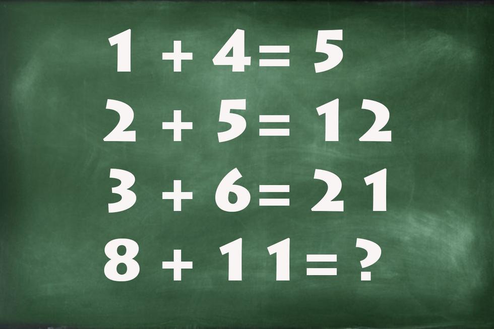 Este es el reto matemático que ha puesto de cabeza las redes sociales.   Foto: MAG