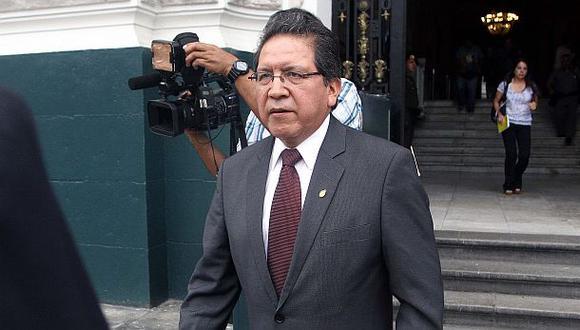 Fiscal de la Nación garantizó autonomía en caso Belaunde Lossio