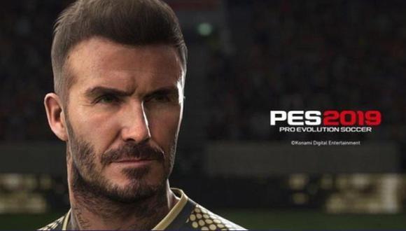 David Beckham también será protagonista del videojuego en el modo leyenda. (Foto: Konami)