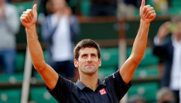 Djokovic ganó en París y se acerca al número 1 del ránking