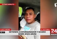 SJL: Policía capturó al 'Loco Aroni', principal sospechoso del crimen del hijo de Carlos Burgos