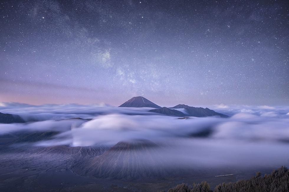 'Nubes cósmicas'. (Foto: @donaldhyip/Agora)