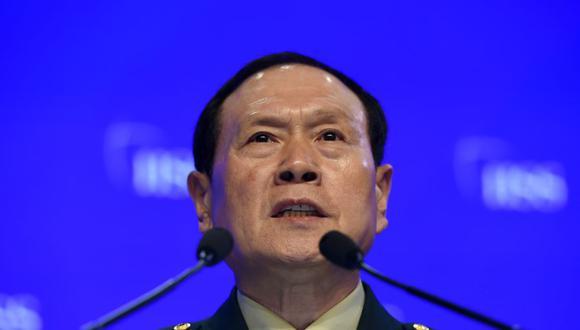 Wei Fenghe, ministro de Defensa de China, lanzó una advertencia a Estados Unidos. (Foto: ROSLAN RAHMAN / AFP).