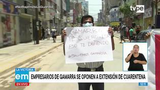 """Susana Saldaña: """"Gamarra pierde más de 20 millones de soles diarios"""""""