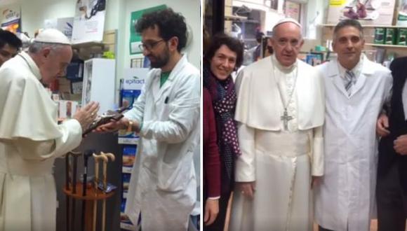 Papa Francisco se escapó del Vaticano para comprar sus zapatos