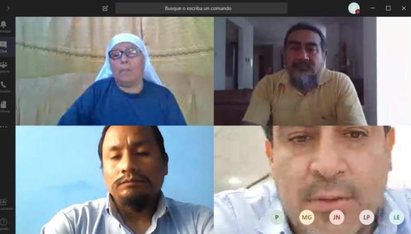 Algunas bancadas, como el Frepap, han tomado la iniciativa y han sostenido reuniones virtuales por su propia cuenta con miembros del Poder Ejecutivo. (Captura)