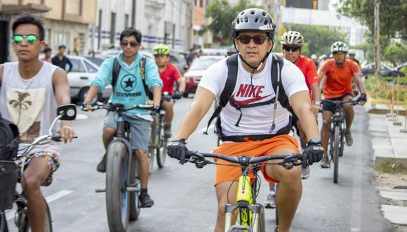 Ciclistas irán acompañados de dos guías, un mecánico de bicicletas y miembros del serenazgo de Lima para garantizar la seguridad. (Foto: Difusión)