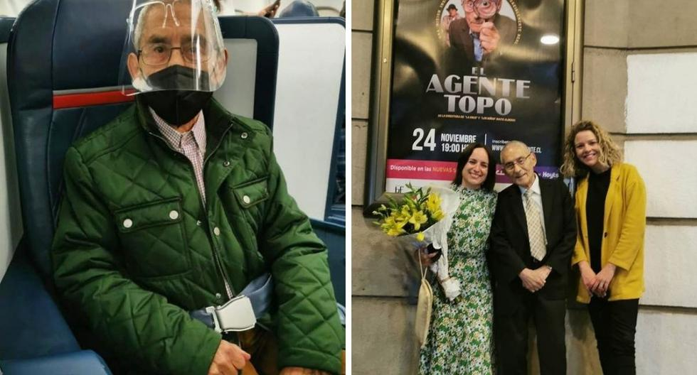 """""""Agent Topo"""": Sergio Chamy shows his trip to the United States for the Oscars"""
