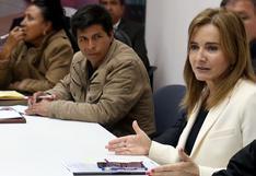 """Marilú Martens: """"Pedro Castillo no sacó nada de la huelga docente del 2017. Solo buscaba legitimarse"""""""