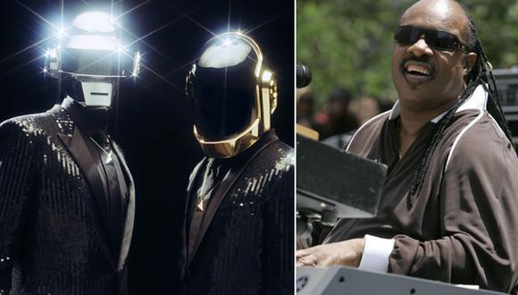 Daft Punk tocará con Stevie Wonder en los premios Grammy