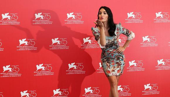 Lali Espósito en el Festival de Cine de Venecia 2018. (Foto: Agencias)