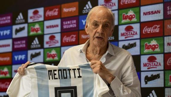 Menotti y Ruggeri se criticaron en la antesala del decisivo duelo entre Argentina y Venezuela por los cuartos de final de la Copa América, programado para este viernes. (Foto: AFP)