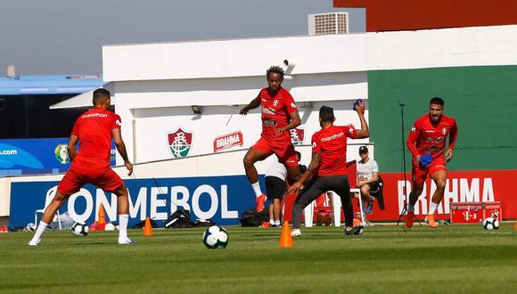 En las últimas horas, el nombre de André Carrillo fue relacionado al Flamengo de Brasil. (Foto: Francisco Neyra - enviado especial a la Copa América)