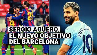 Barcelona se fija en Sergio Agüero para reforzar ataque, según The Sun