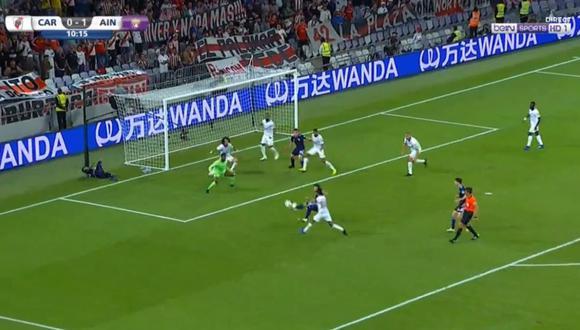 Rafael Santos Borré apareció en el momento más indicado para meter el empate transitorio de River Plate contra Al Ain, por las semifinales del Mundial de Clubes. (Video: YouTube)