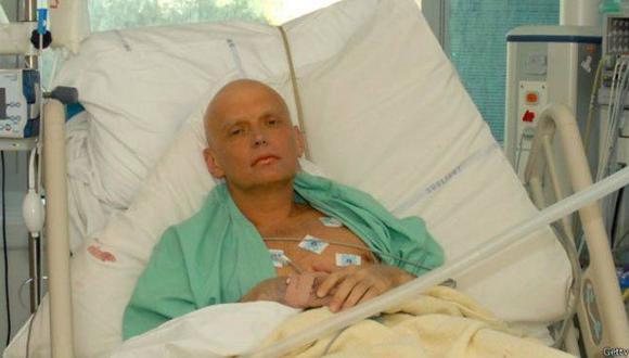 El ex agente del FSB (servicios secretos rusos) Alexandre Livinenko, opositor al Kremlin en el exilio, murió en 2006 envenenado con polonio-210. (Foto: AFP)
