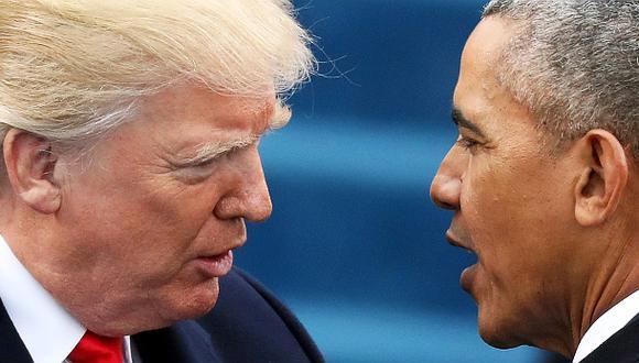 """Donald Trump en 2013: """"Obama, no ataques Siria"""""""