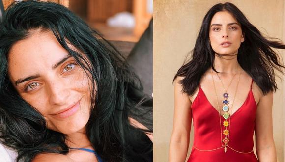 La actriz mexicana dijo que en algún momento llegó a sentir que se iba a morir. (Fotos: Instagram)