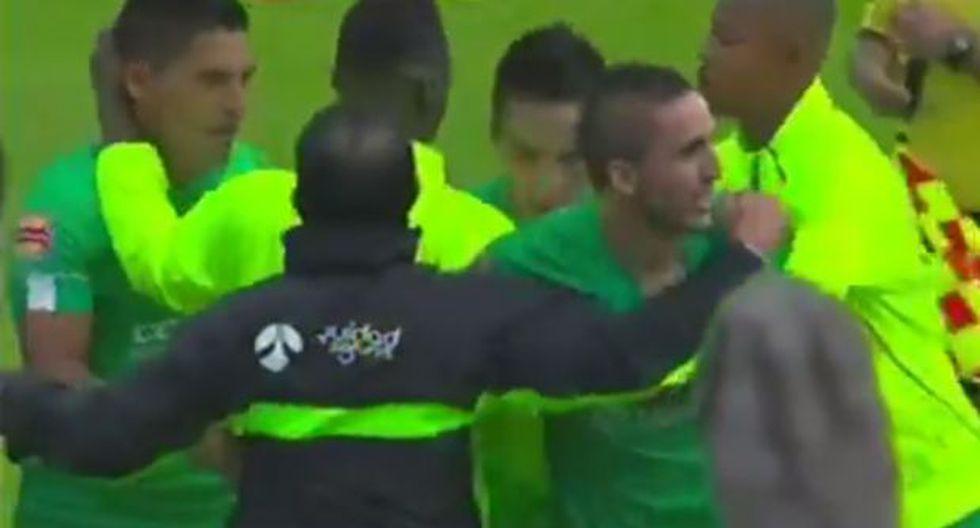 Andy Pando anotó y asistió en su debut con La Equidad (VIDEO)