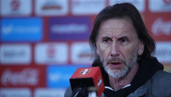 Ricardo Gareca dirige a la Selección Peruana desde el 2015. (Foto: FPF)