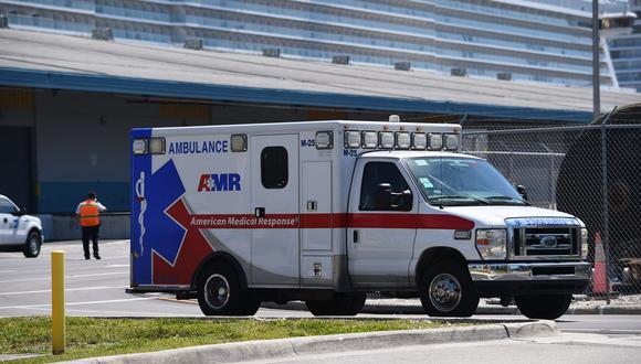 Florida envía refuerzo de 100 profesionales de salud a hospitales de Miami por imparable aumento de casos de coronavirus. (Foto: CHANDAN KHANNA / AFP).