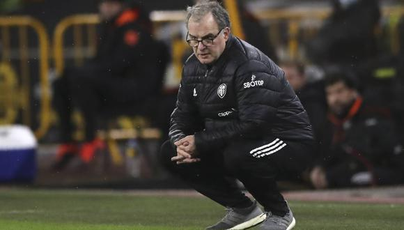 Marcelo Bielsa respondió al interés de Leeds United por renovarle el contrato. (Foto: AP)