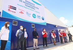 Cajamarca: implementan centro de atención temporal con 50 camas para pacientes COVID-19
