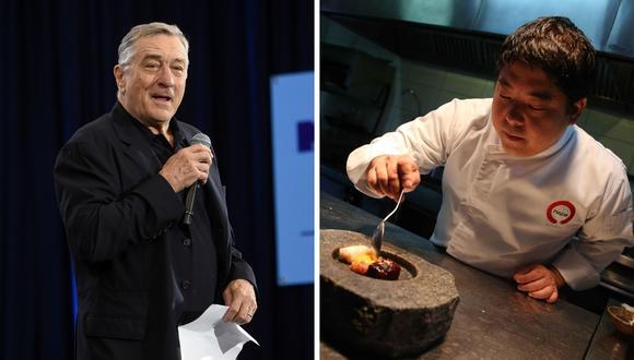 Robert De Niro visitó Maido, uno de los 50 mejores restaurantes del mundo. (Foto: AFP/EFE)