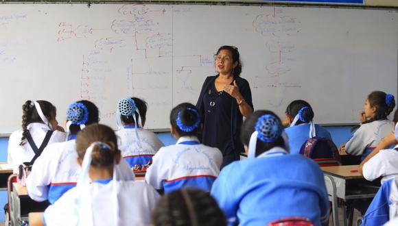 La creación de plazas docentes, directivas y administrativas se da ante el incremento de la demanda de servicio educativo público. (Foto: GEC)