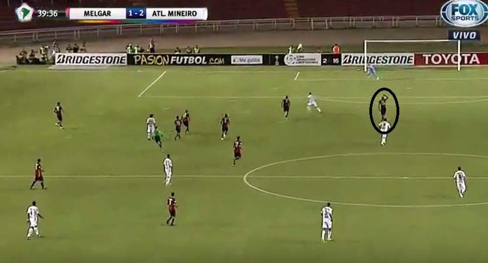 Los errores de Melgar en los goles de Atlético Mineiro - 11