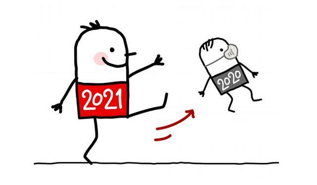 Θα χάσετε το 2020;  Πολλοί θα χρησιμοποιήσουν αυτήν τη δημιουργική εικόνα για το WhatsApp.  (Εικόνα: Whatsapp)