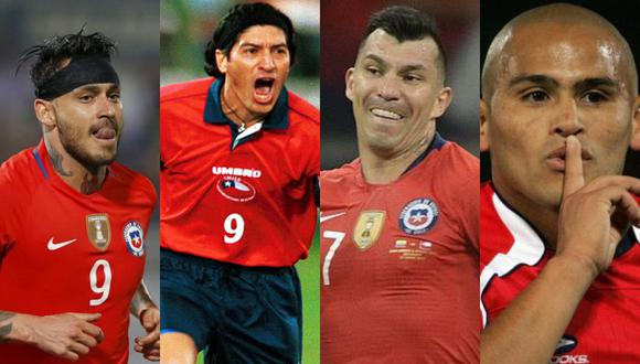 ¡Reunión de estrellas! Medel conversó con Zamorano, Suazo y Pinilla durante una transmisión de Instagram.