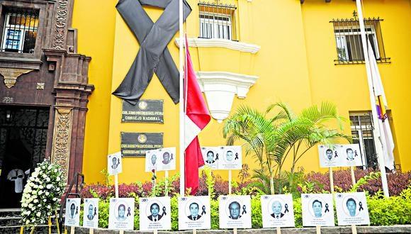 Doctores de todas las regiones del Perú perecieron dando batalla al coronavirus. (Foto: GEC)