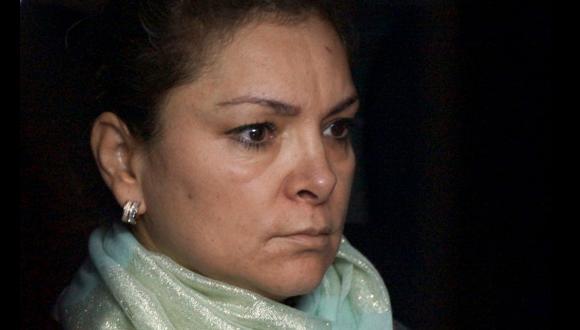 """""""La reina de Iguala"""" lució así al ser detenida ¿Desesperación?"""