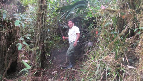 Lorenzo Wampagkit se encontraba de licencia con goce de haber debido a la emergencia sanitaria por el COVID-19. (Foto: Sernanp)